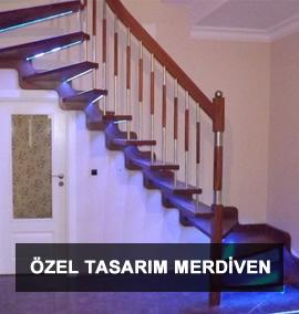 Ahşap Merdiven | Özel Tasarım Merdiven